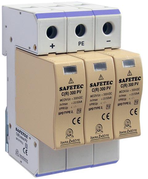 Dispositivos de protección ante sobretensiones