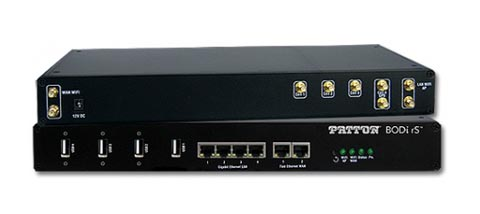 Router con PoE flexible