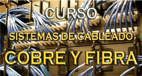 Curso sobre sistemas de cableado en cobre y fibra