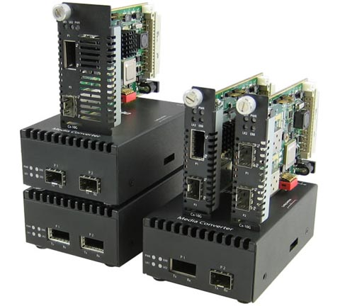 Extensores de cobre Ethernet