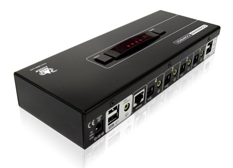 Conmutador KVM con tecnología FreeFlow