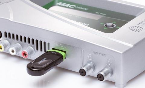 Modulador con funcionalidad de reproducción de vídeos