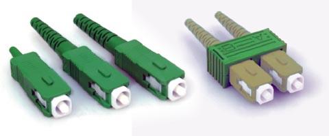 Conectores SC/APC para ICT