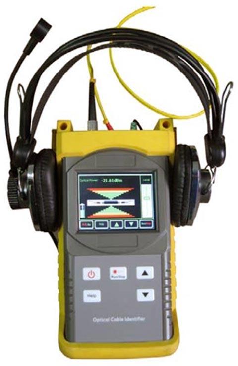 Identificador de cables ópticos