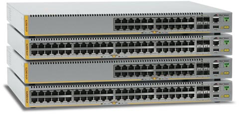 Switches Gigabit Edge apilables