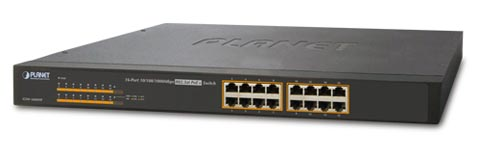 Switch PoE Gigabit para vigilancia IP