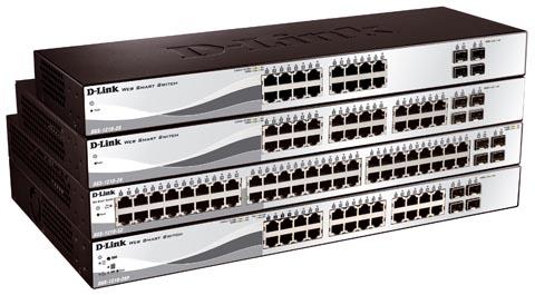 Switches Gigabit con IPv6 y funcionalidades de gestión