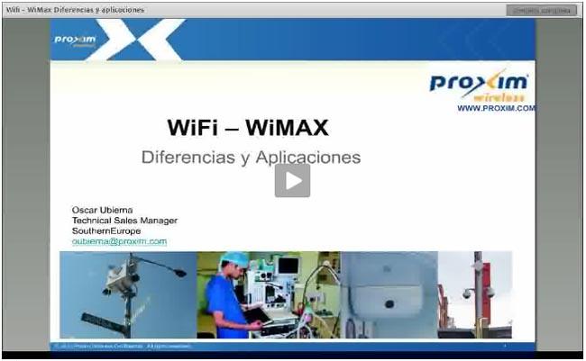 Reproducción del Webminar Wi-Fi vs WiMAX