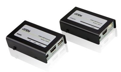 Extensor HDMI sobre Cat5e/6 + USB 2.0