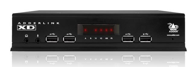 Extensor de vídeo DisplayPort de alta resolución
