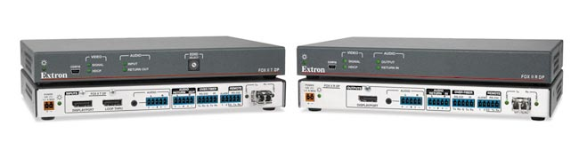 Extensor DisplayPort de fibra óptica