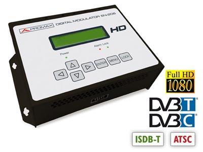 Modulador de alta definición con HDMI