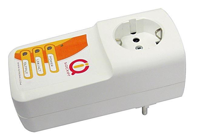 Tomas de corriente con control por IP