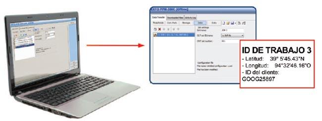 Denominación de datos PPM-350C en la oficina