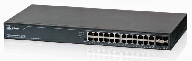 Switches PoE para vídeo vigilancia