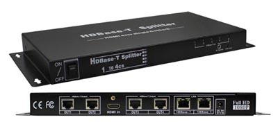 Divisor extensor HDMI de 4 puertos