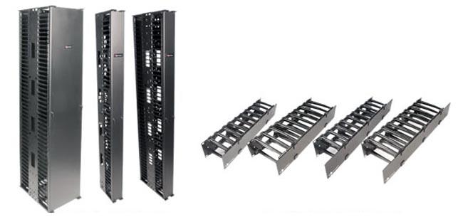 Sistema de gestión para cableado de elevada densidad