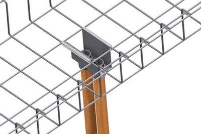 Sistema de bandeja para cables de alta capacidad