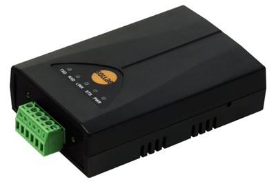 Convertidor serie a Ethernet TCP/IP