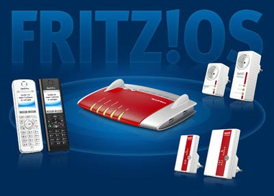 Fritz!OS con punto de acceso WiFi privado