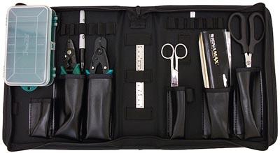 Kit de herramientas para terminación de fibras