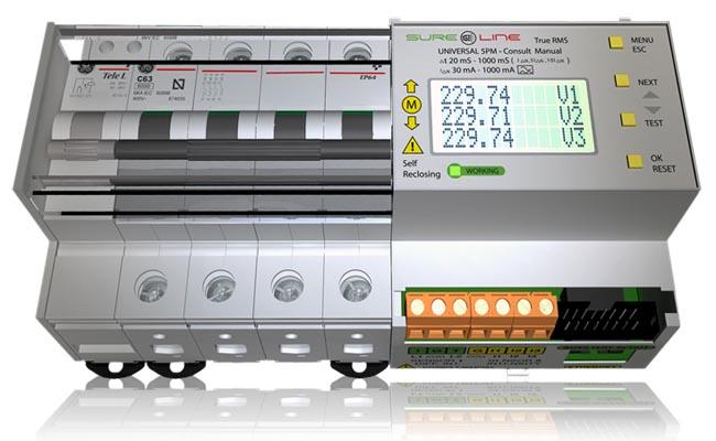 Relés e interruptores diferenciales con reconexión automática
