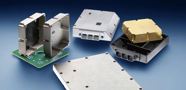 Cajas con protección EMI