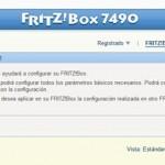 Fritz!Box 7490 Asistente