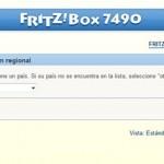 Fritz!Box 7490 Selección de País