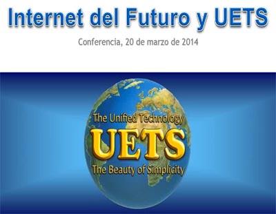 Grabación de la Conferencia Internet y la tecnología UETS