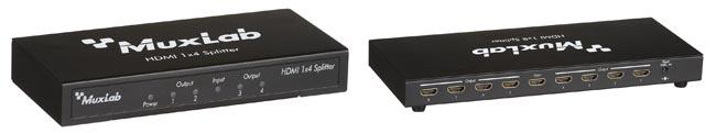Splitters HDMI para sistemas audiovisuales