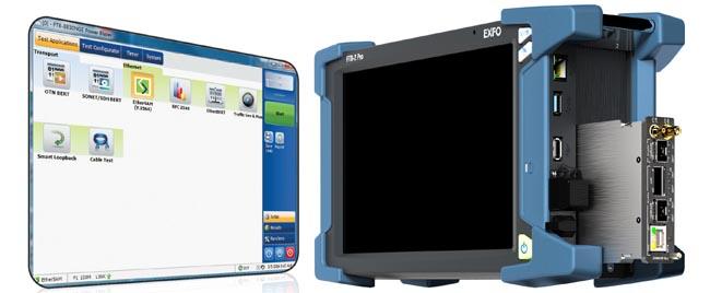 Tester multiservicio 10G para redes convergentes