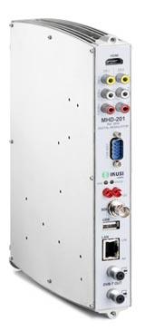Modulador HD en formato DVB-T o IP