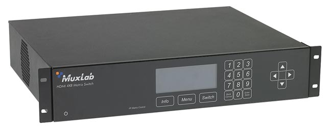 Conmutadores de matrices AV digitales