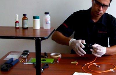 curso técnico básico de Fibra Óptica online