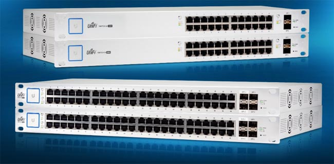 Switches gestionados Gigabit PoE+