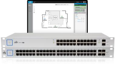 Switches enterprise de 24 y 48 puertos