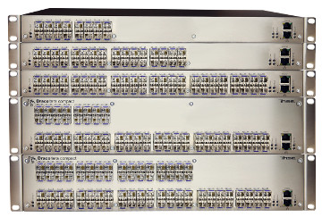Matrices de switches 3G con diseño compacto