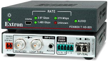 Transmisor de fuentes SDI a displays no SDI