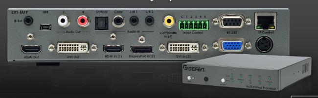 Procesador multiformato para switching de vídeo