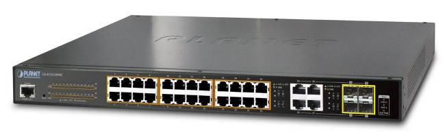 Switches Gigabit PoE+ gestionados