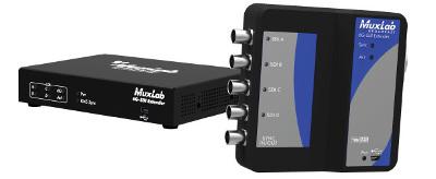 Extensor de vídeo UHD sobre cable de Cat 5e/6