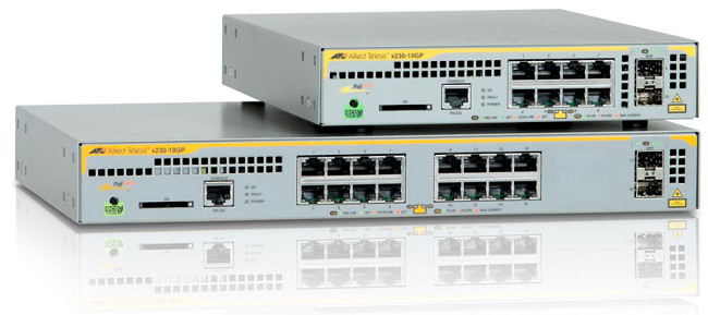 Switches Gigabit Ethernet PoE+