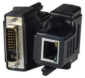 Mini extensor DVI a RJ45