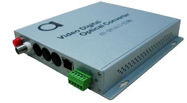Conversor de vídeo analógico para fibra óptica
