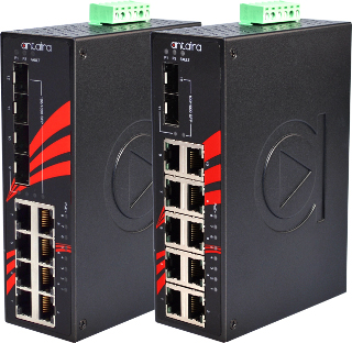 Switches PoE no gestionados High Gigabit