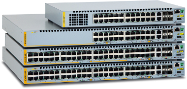 Switches apilables Fast Ethernet PoE