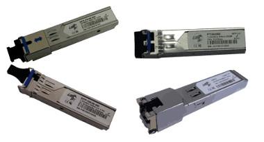 Módulos SFP para escalado de redes de fibra óptica
