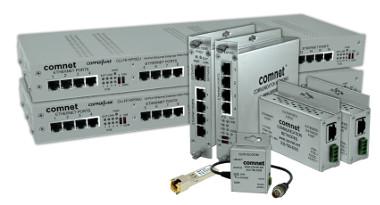 Extensores Ethernet sobre cable coaxial o RJ-45