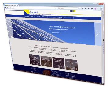 Web de dispositivos de protección